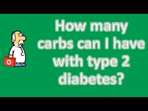How Many Carbs Should A Diabetic Have In A Day?