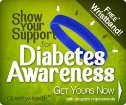 Expired: Free Diabetes Awareness Wristband
