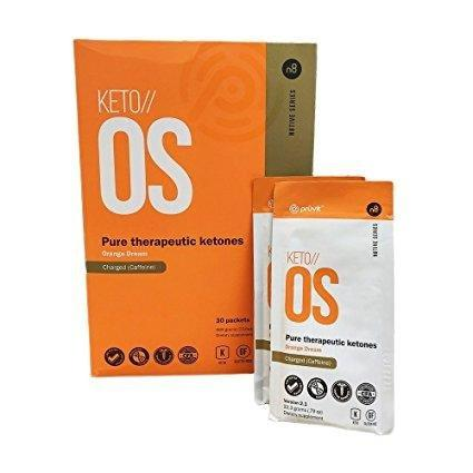 Keto Os Charged Exogenous Ketones | Prüvit In Packets With Caffeine (30)