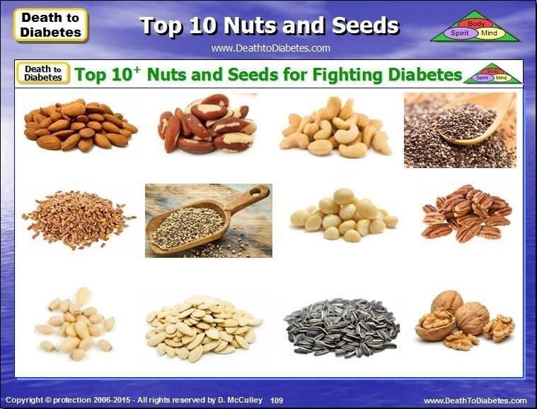 Nuts And Seeds Address 4 Problems | Reverse Diabetes