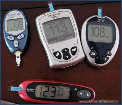 The Glucose Meter Shuffle.