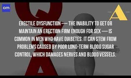 Can Diabetes Cause Erectile Dysfunction Problems?