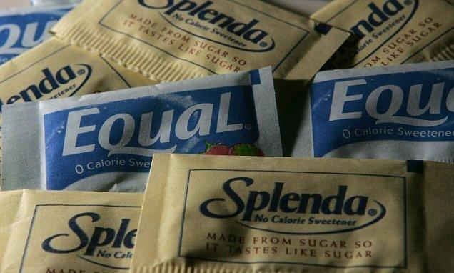 Artificial sweeteners could raise risk of diabetes | Daily Mail Online