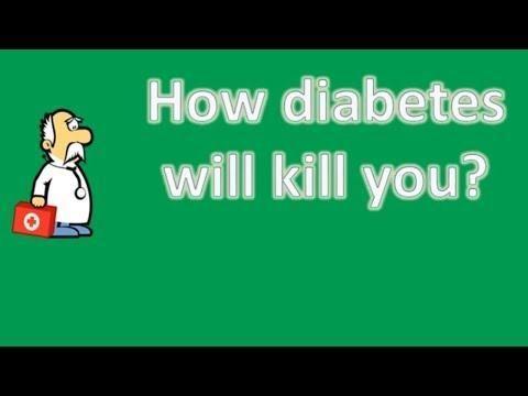 How Diabetes Kills You