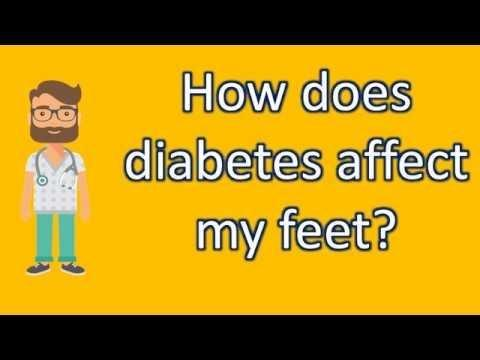 How Does Diabetes Affect Your Legs And Feet?