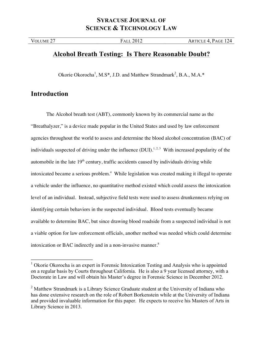 Diabetes, Breath Acetone And Breathalyzer Accuracy: A Case Study