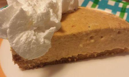 Low Carb Pumpkin Cheesecake No Bake