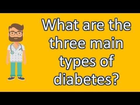 How Many Types Of Diabetes Are There In The World?