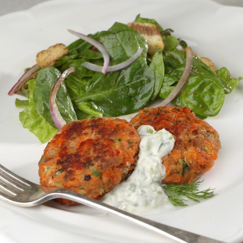 Diabetic Salmon Patties