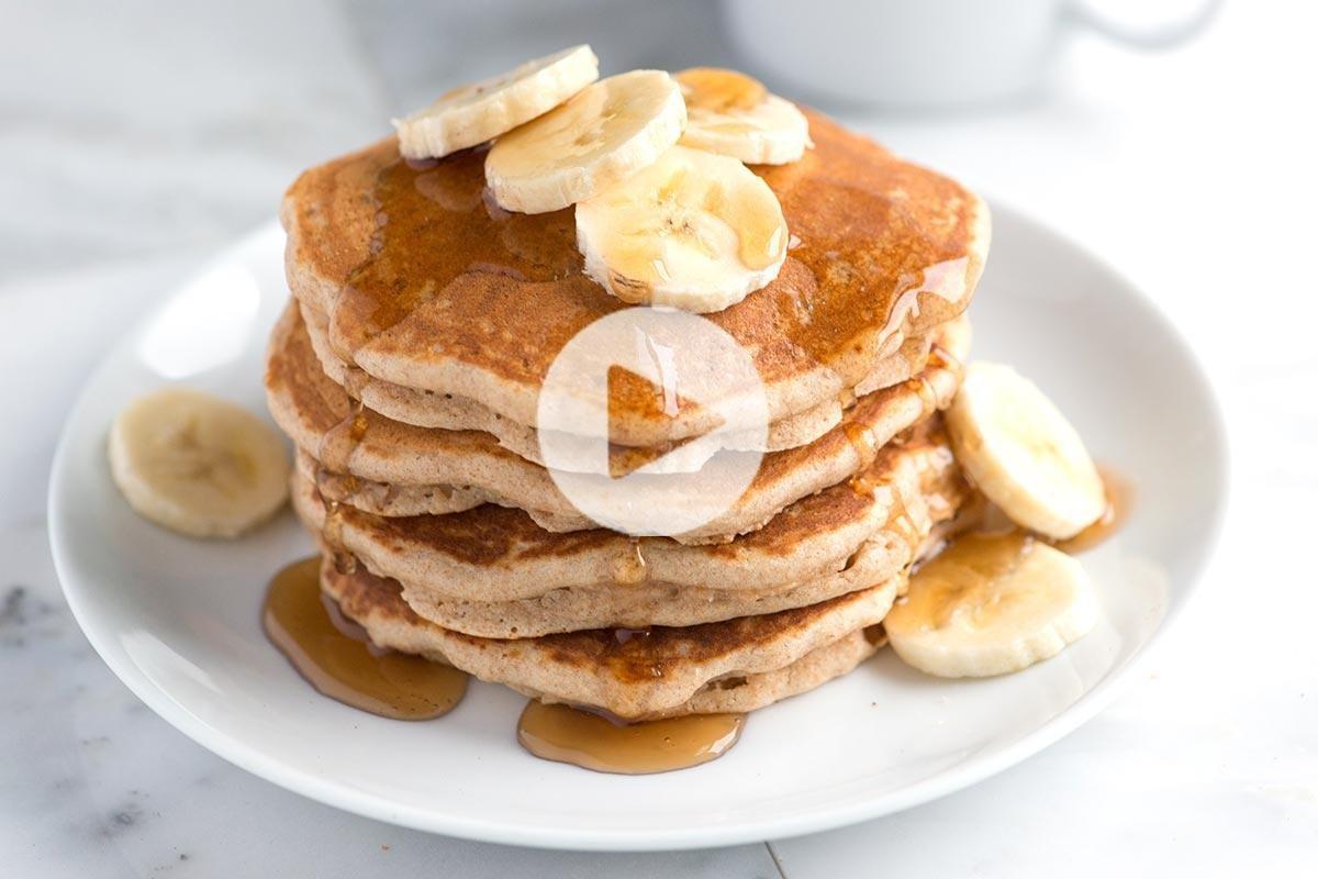 Easy, Delicious Whole Wheat Pancakes Recipe