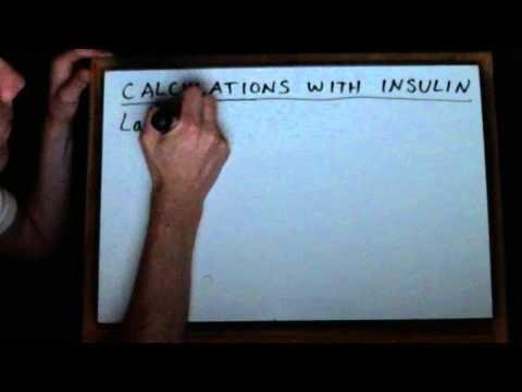Premixed Insulin Examples