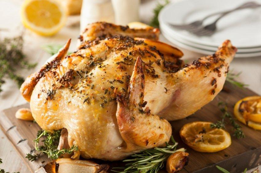 Low-sodium Herb Roasted Chicken Recipe