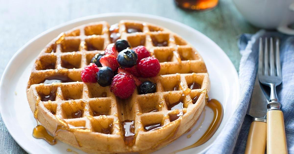 Whole Wheat Waffles Recipe | King Arthur Flour