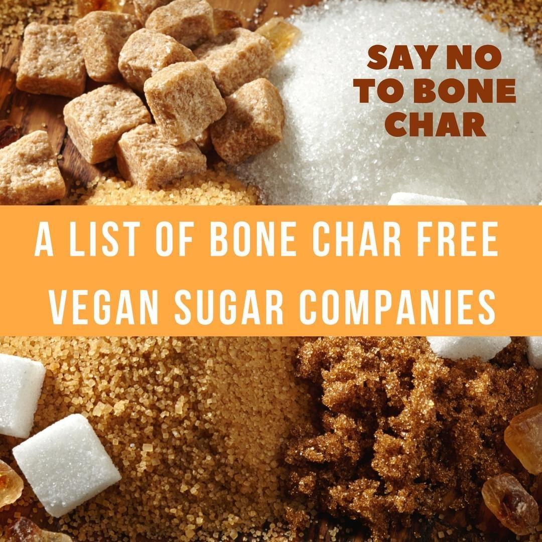 A List Of Bone Char Free Vegan Sugar Companies