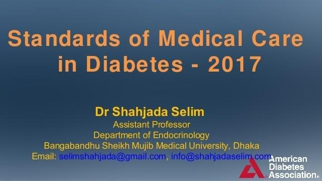 Ada 2017 Standards Of Medical Care In Diabetes_dr Selim