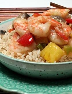 Diabetic Shrimp Stir Fry