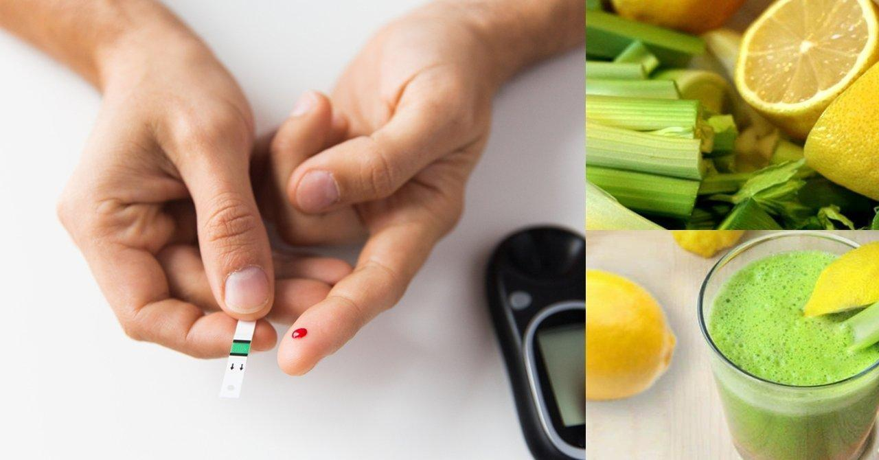 Fight Diabetes With Celery And Lemon