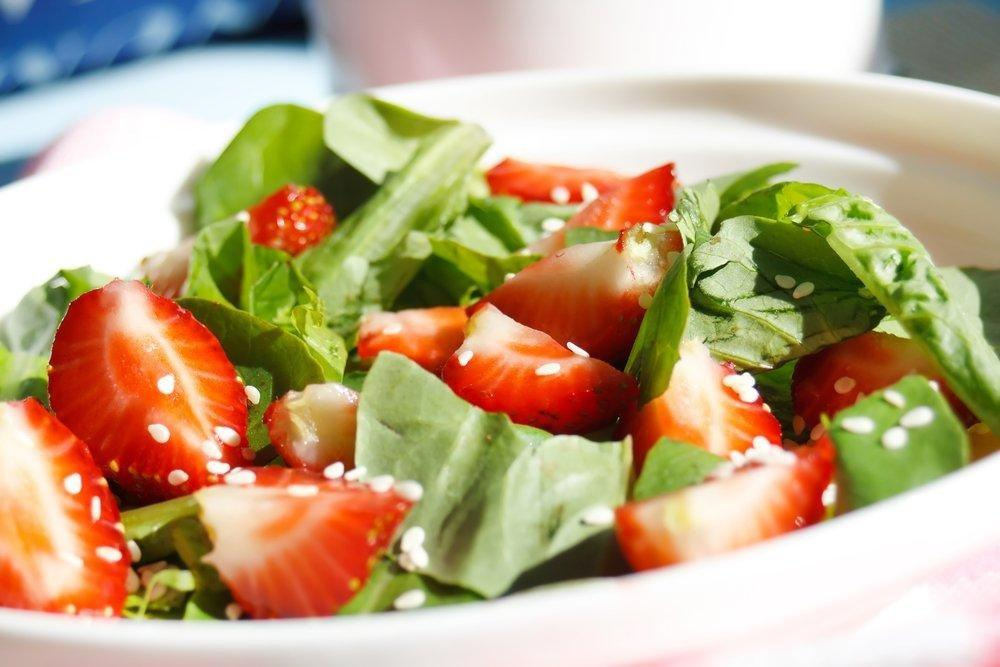 Diabetic Spinach Salad