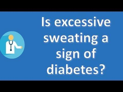 Diabetes Sweating After Eating