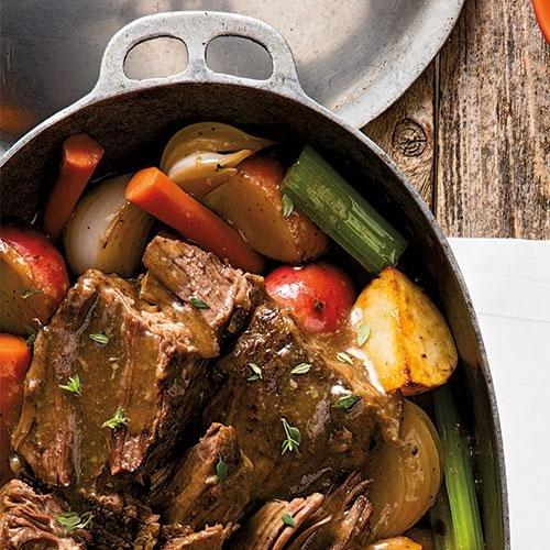 Old-fashioned Pot Roast And Gravy