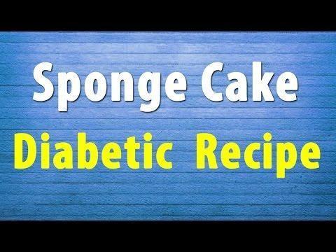 Diabetic Sponge Cake