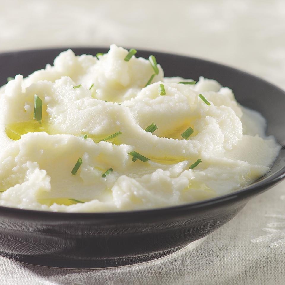 Creamy Mashed Cauliflower Recipe - Eatingwell