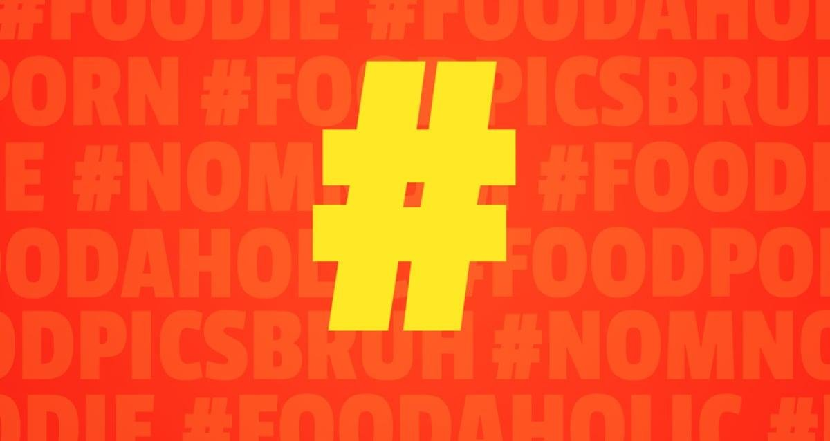 A Field Guide To Instagram Food Hashtags