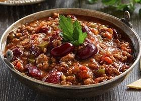 Turkey And Veggie Chili