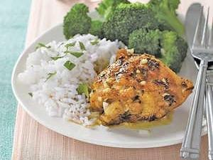 Lemon-rosemary Chicken Thighs