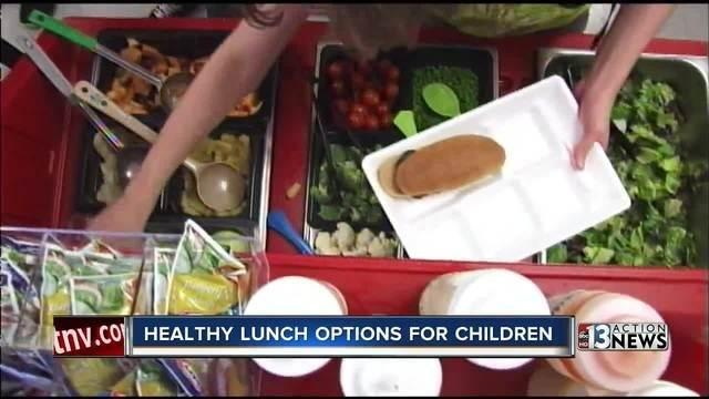 Finding Ways To Make School Lunches Healthier For Kids