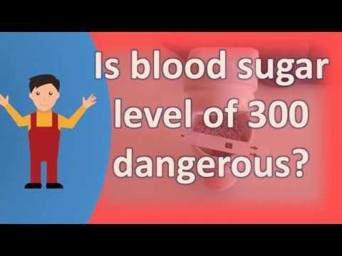 Unsafe Blood Sugar Levels