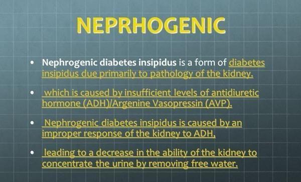 Nephrogenic Diabetes Insipidus: Its Symptoms, Causes, Treatment & Diet