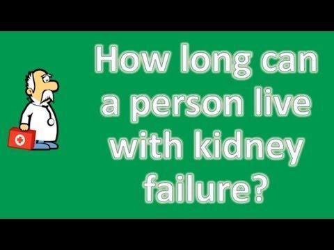 Diabetes Kidney Failure Life Expectancy