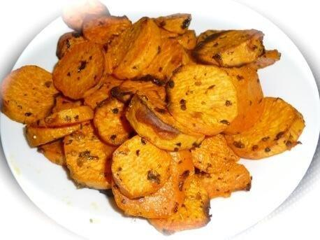 Sweet Potato Chips Diabetic Health Clinic