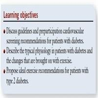 Diabetes Exercise Guidelines