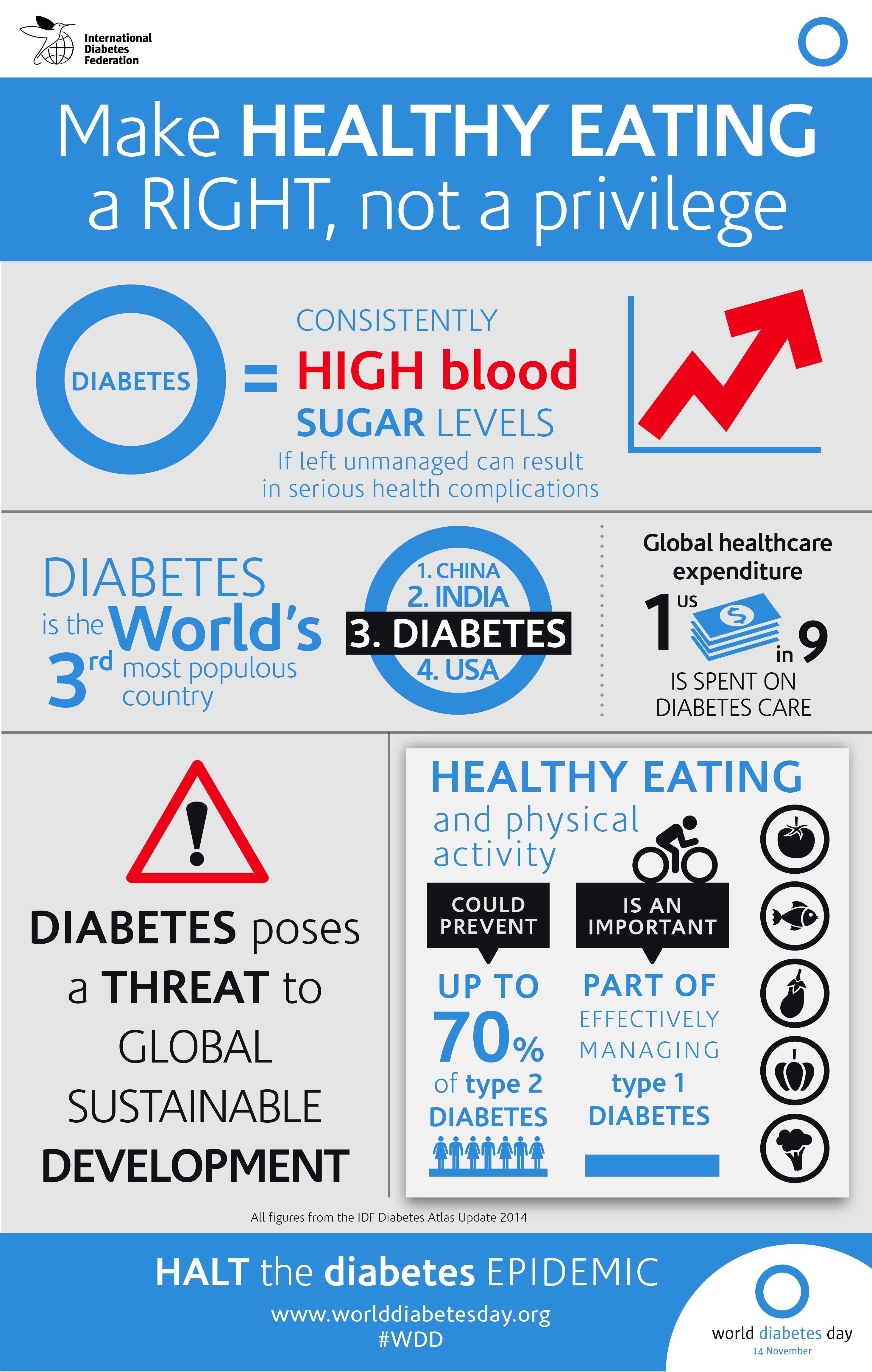 World Diabetes Day 2017 Logo