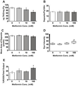Activation Of Ampk By The Putative Dietary Restriction Mimetic Metformin Is Insufficient To Extend Lifespan In Drosophila