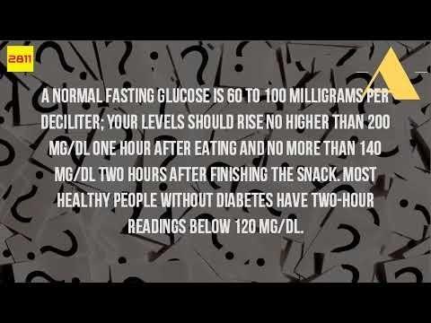 Blood Sugar 6 Hours After Eating