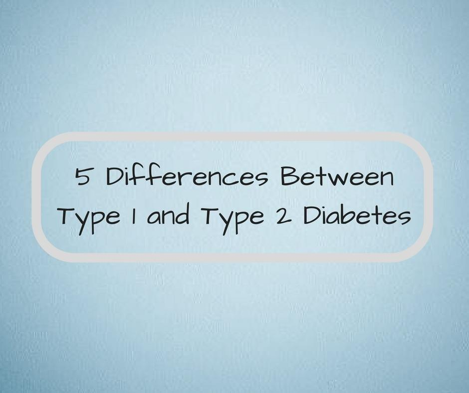 What Is The Difference Between Type 2 Diabetes And Type 1 Diabetes?
