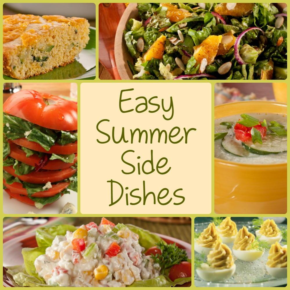 10 Easy Summer Side Dishes