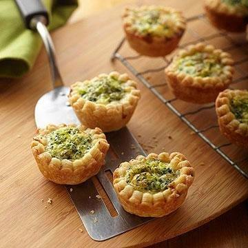 Tiny Broccoli Quiches