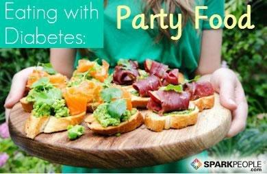 Eating With Diabetes: Party Food