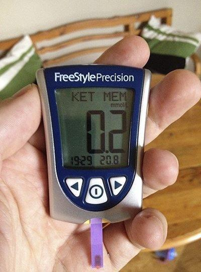 A New Toy Measuring Blood Ketones