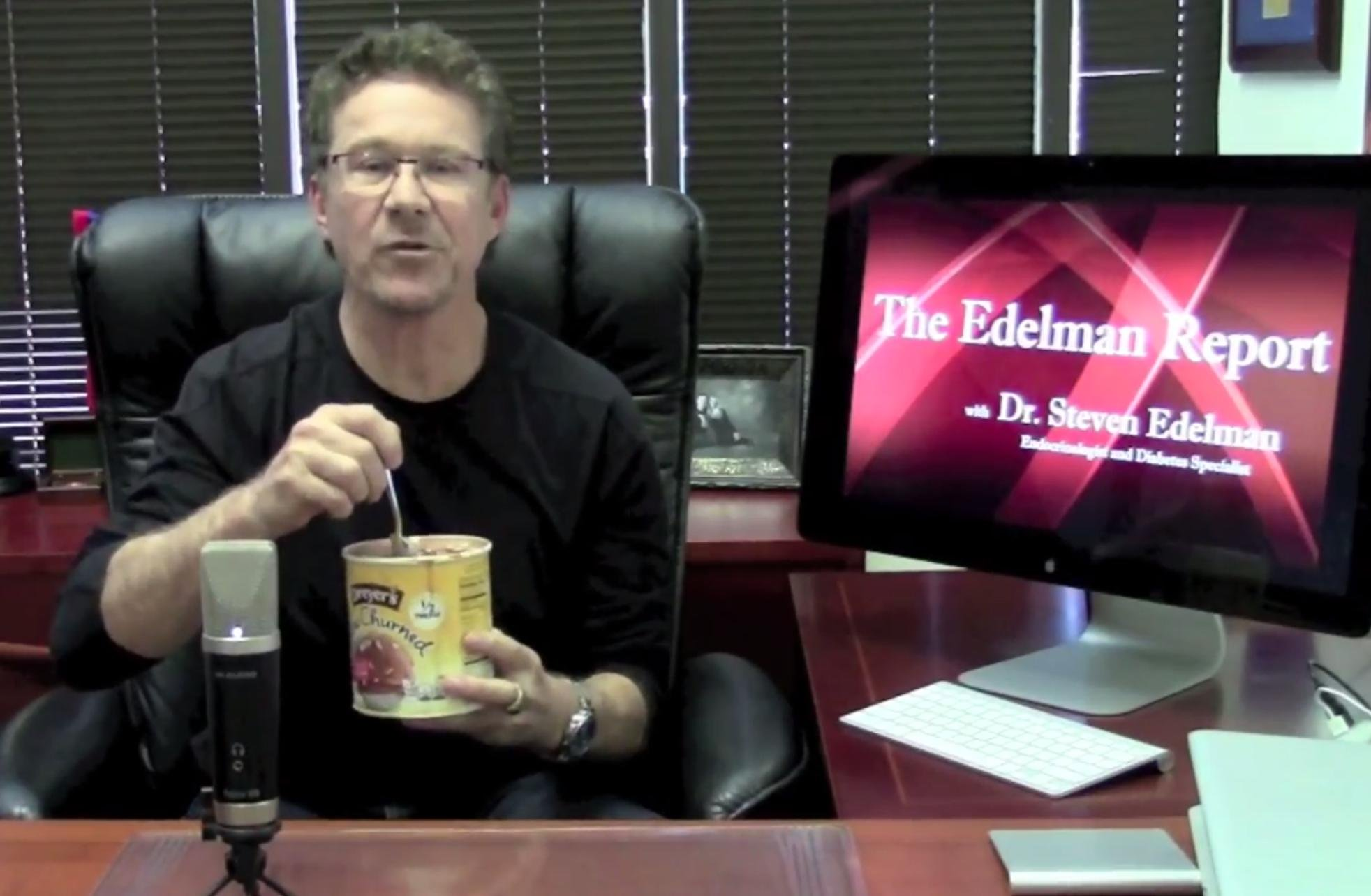 Dr. Edelman On How To Eat Ice Cream With Diabetes