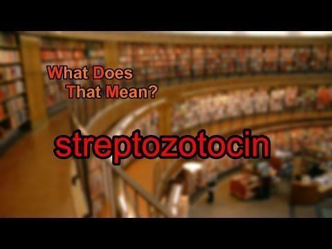 Streptozotocin - Vckd