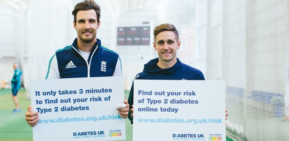 England And Pakistan Cricket Stars Call For More People To Know Their Risk Of Type 2 Diabetes