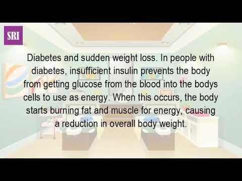 Why Do Type 2 Diabetics Lose Weight Without Trying?