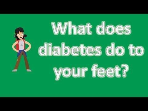 What Does Diabetes Do To Your Feet?
