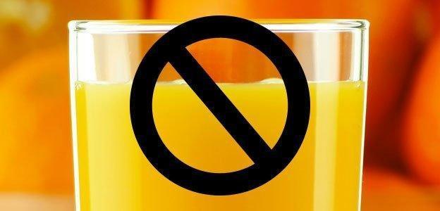 The #1 Reason To Avoid Orange Juice
