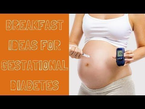 Sample Breakfast For Gestational Diabetes